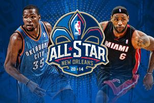 2014 NBA All-Star Lineup