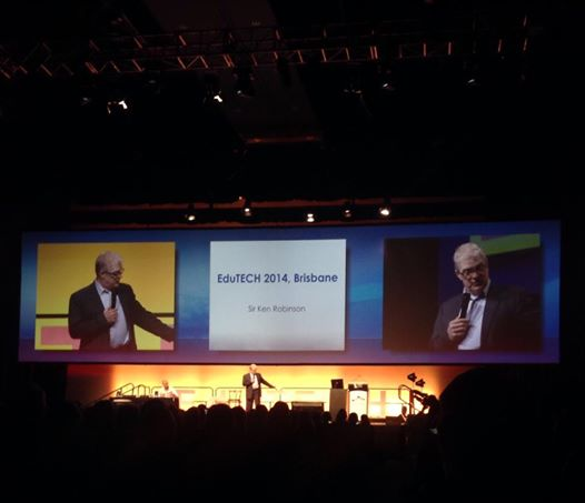 Sir Ken Robinson at EduTECH